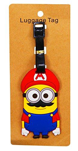 (REINDEAR Heavy Duty Baggage Luggage Tag US Seller (Super Mario)