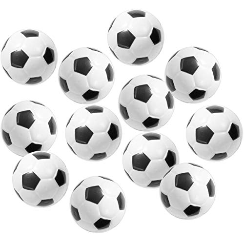 DORUS Soccer Sports Stress Balls Bulk Pack of 12 Relaxable 2.5