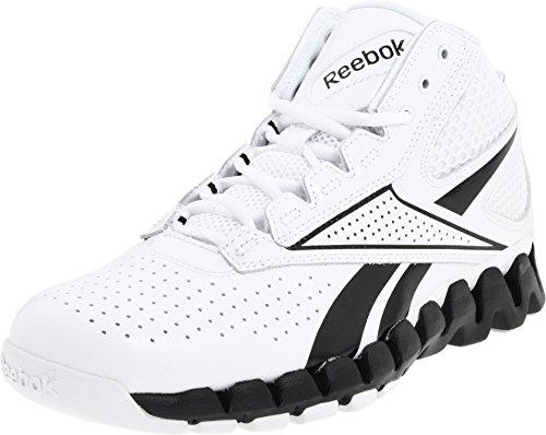 Reebok Zig Pro Future Women's Basketball Shoe (A7.5, White/Black) (Reebok Mens Zig Pro Future Basketball Shoe)