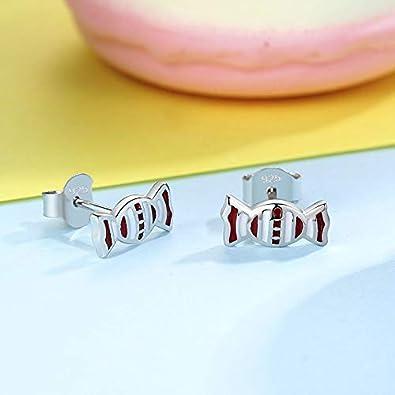 Gold Gala Petites Boucles doreilles en Argent Sterling 925 pour Femme Fille