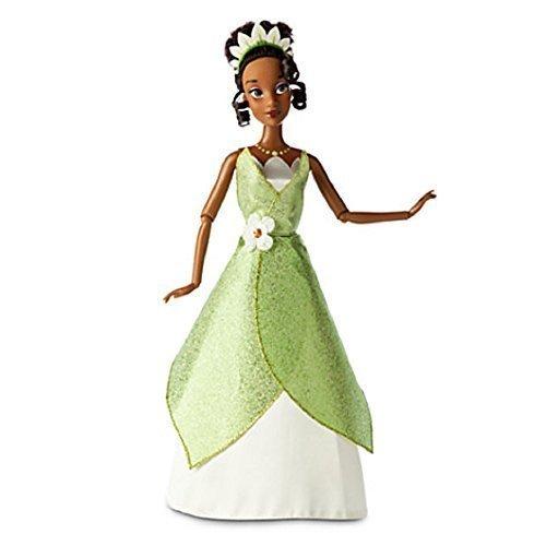 Deluxe Sparkle Tiana Princess Costumes - Disney Tiana Classic Doll -