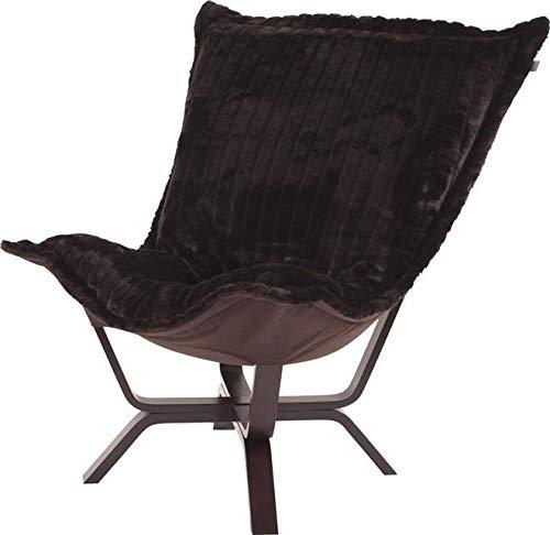 Howard Elliott 540-285 Milan Puff Chair, Mink Brown ()