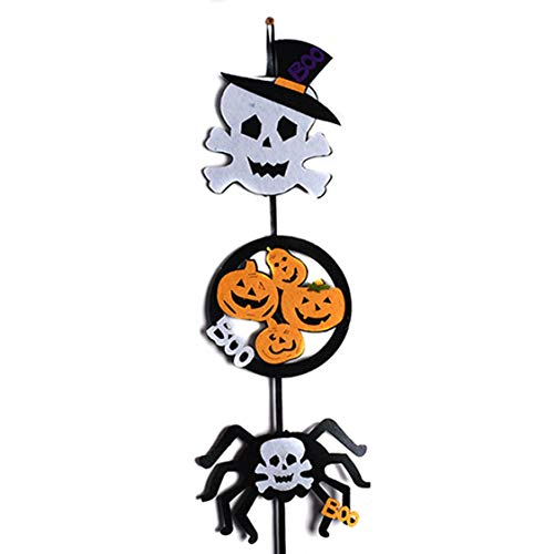 DOSOMI Halloween Decoration Hanging Flags Door Hanger of