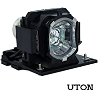 DT01433 Replacement Lamp with Housing for HITACHI Projector CP-EX250 CP-EX250N CP-EX300 CP-EX300N (Uton)