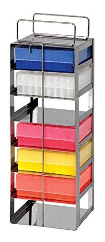 "Thomas Scientific Heathrow HS2862D 8 x 1 Rack, Chest Freezer, Steel, 3"", Vert"