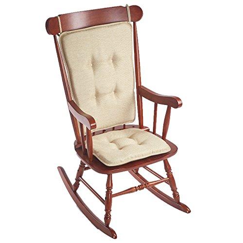 king Chair Cushion, 16 x 17.5 x 2, Natural ()