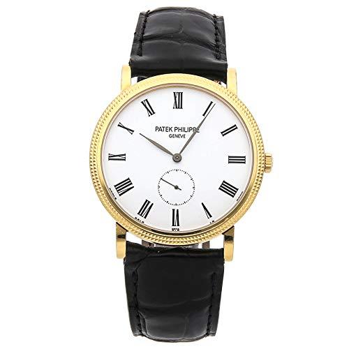 Patek Philippe Calatrava Men's 18K Yellow Gold Watch - 5119J-001