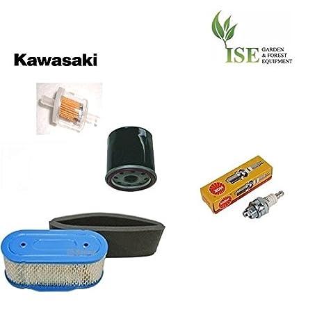 Amazon.com : Kawasaki FH601V (19hp V-Twin) Service Kit from ... on