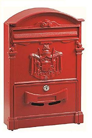 Blinky 27290 10 Residencia Boite Aux Lettres Rouge 26 X 9 X 41 Cm