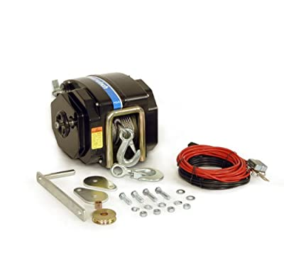 "Powerwinch 712 Trailer Winch (40' x 7/32"" cable)"