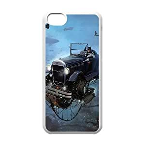 Batman Batmobile iPhone 5c Cell Phone Case White present pp001_9648482