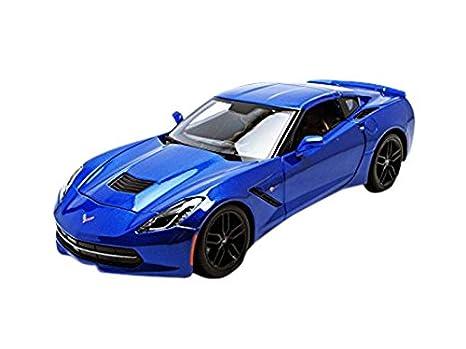 Corvette Sting Ray >> Maisto 2014 Chevrolet Corvette Stingray Z51 Blue 1 18 31677