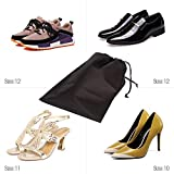 DIOMMELL Set of 10 Jumbo Shoe Bags for Travel