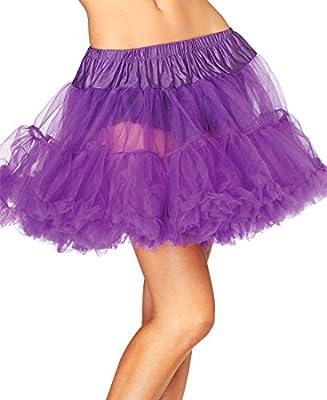 Leg Avenue 8990 Women's Purple Layered Soft Tulle Petticoat