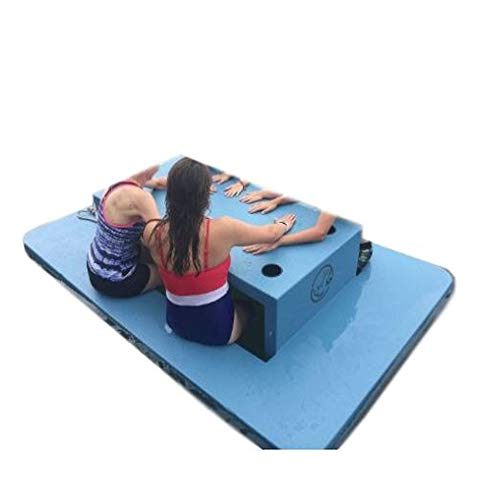 - GT Floating Picnic Table Plastic Blue Outdoor Pool Lawn Garden Yard Kids Adults Portable Furniture Picnic Dinner Pool Party & Ebook by Easy 2 Find.