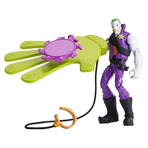 "The Joker w/ Slapstick Smack ~4"" Mini-Action Figure: Batman Unlimited Basic Figure + Accessories Series"