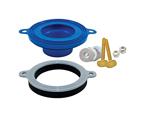 "Fluidmaster 7530P4 6"" X 6"" X 2"" Better Than Wax Wax Free Toilet Seal - Fluidmaster Wax Free"