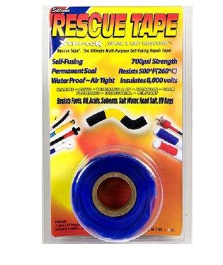 Rescue Tape Self-Fusing 700psi Strength Multi-Purpose Repair, Scuba Tape, Boat Tape, Pipe Tape, Plumbers Tape, Electric Tape, Duck Tape, Waterproof Tape, Pipe Repair, CLEAR