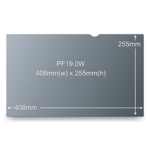 """3M Privacy Filter for 19"""" Widescreen Monitor (16:10) (PF190W1B)"""