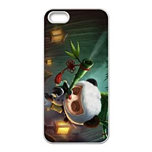 League of Legends(LOL) Panda Teemo iPhone 4 4s Cell Phone Case White xlb2-030283