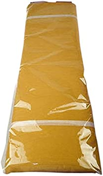 FIREFLY Tulle Bolt Fabric Net Jumbo Size Antique Gold 54-inch x 40-yard
