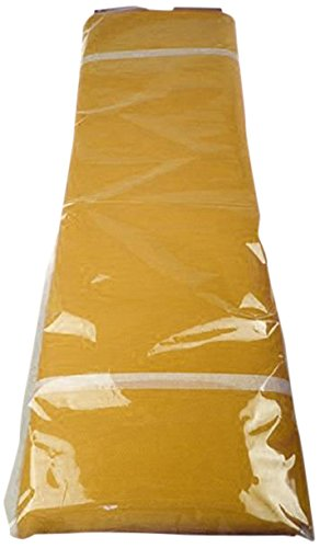 FIREFLY Tulle Bolt Fabric Net Jumbo Size, 54-inch x 40-yard (Antique Gold) (Net Spin)