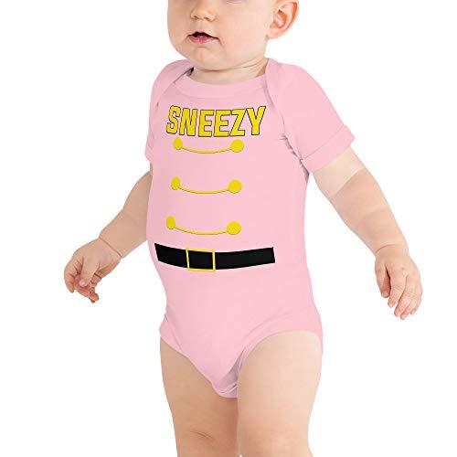 Sneezy Dwarf Halloween Costume Baby Bodysuit Baby Shirt Family Matching Costume Pink]()