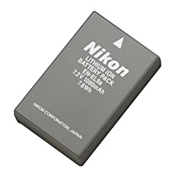 Nikon En-EL9a Rechargeable Li-ion Battery - Retail Packaging