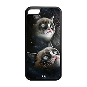 Grumpy Cat Case For Sam Sung Galaxy S4 Mini Cover Black Case Cool Laughing Cat Snap On at NewOne