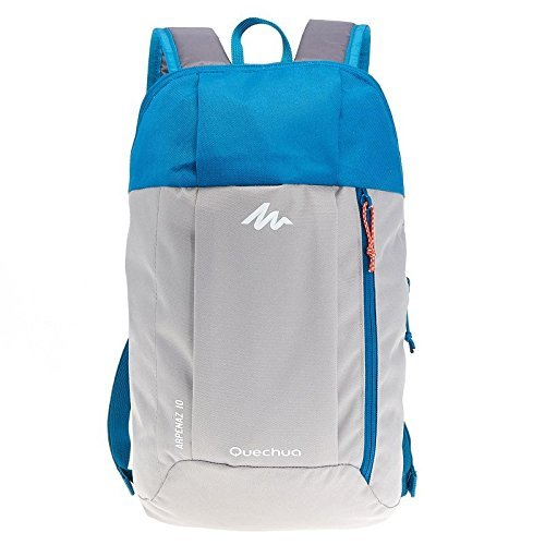 Quechua Kids Adults X Sports Decathlon 10L Outdoor Day Backpack Small Grey/Blue