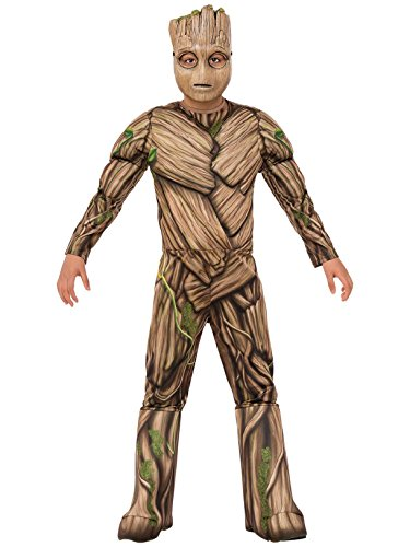 (Rubie's Guardians of The Galaxy Vol. 2 Deluxe Muscle Chest Groot Costume,)