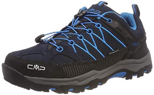 CMP Unisex-Erwachsene Rigel Low Trekking-& Wanderhalbschuhe Grau (Asphalt-cyano 92bh)