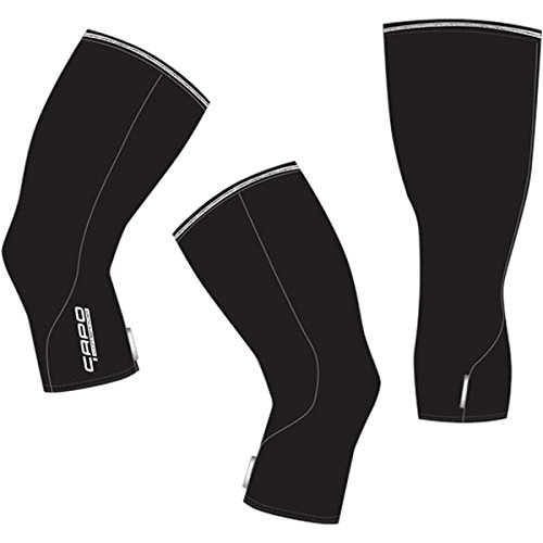 Capo Lombardia Roubaix Knee Warmers Black, S/M (Knee Roubaix Warmers)