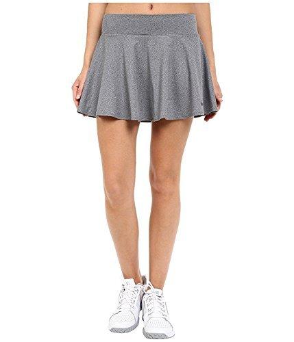 Nike Women's Baseline Power Tennis Skirt Dark Grey (XL)
