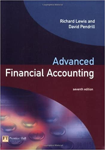 Advanced Financial Accounting by Richard Lewis (2003-07-24)