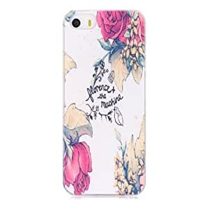 TRURENDI Retro Galaxy Floral Patterned Case Hard Cover Back Skin Protector For Apple iPhone 5 5S (Style 8)