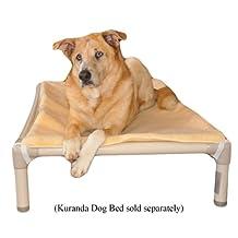 Kuranda Dog Bed Double Sided Luxury Fleece Pad - 44 x 27 - XL