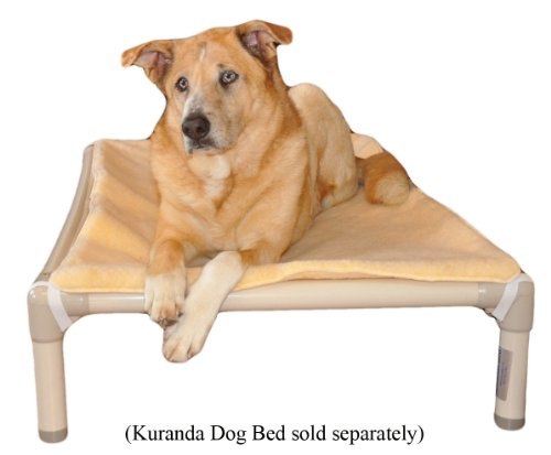 Kuranda Dog Bed Double Sided Luxury Fleece Pad – 50 x 35 – XXL, My Pet Supplies