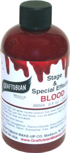 Graftobian Stage Blood 8 Ounces -