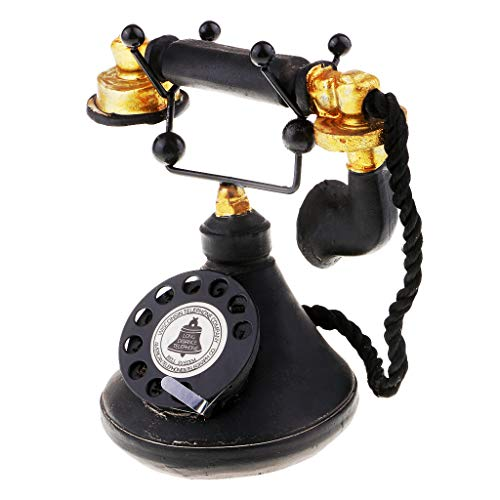 - Baosity Vintage Antique Rotary Telephone Corded Retro Phone Home Decoration 7111-34