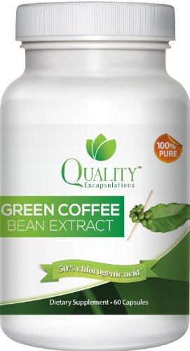 100% Pure! Зеленый Coffee Bean Extract 800 с ГПК естественное дополнение потери веса, 60 капсул