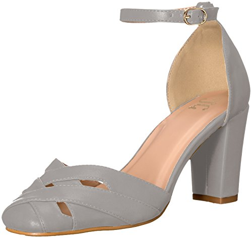 Brinley Co Femmes Indy Pump Gris
