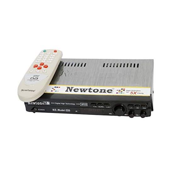 Yogaquaa DD Free to Air NEWTONE MPEG 2 HD Set TOP Box with Remote & AV Lead(Black Colour)