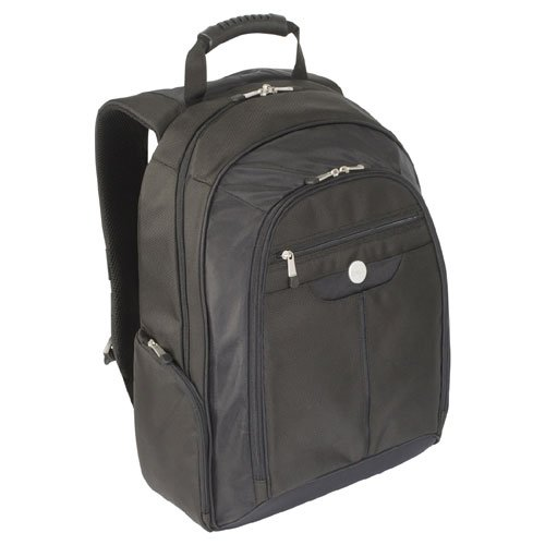 Genuine Dell HF932 NG764 Black Nylon Laptop Notebook Carrying Case Backpack Fits up to a 15.4