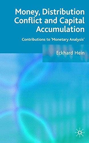 Money, Distribution Conflict and Capital Accumulation: Contr