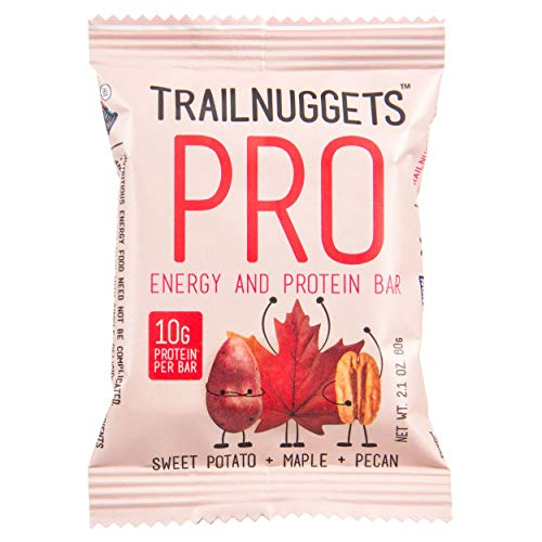 Trailnuggets PRO, Energy and Endurance Bar, Sweet Potato, Maple & Pecan, 1 CT