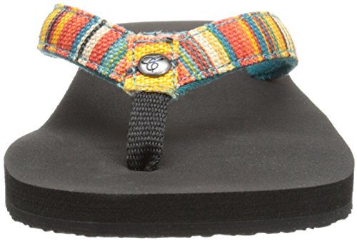 cobian Womens Fiesta Bounce Dress Sandal Striped a0qDqFz