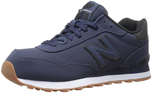 New Balance Men's 515 Winter Stealth Pack Fashion Sneaker, Navy/Black, 11 D...