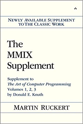 The mmix supplement supplement to the art of computer programming the mmix supplement supplement to the art of computer programming volumes 1 2 3 by donald e knuth 1st edition fandeluxe Choice Image