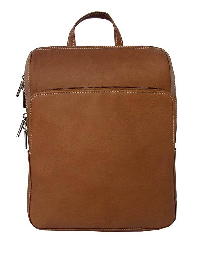 Slim Front Pocket Backpack Color: Saddle
